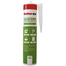 Silicone Acético p/ Selar/Vedar Incolor 260g - Fischer (unidade)