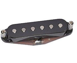 Captador para guitarra Sérgio Rosar Vintage Hot Braço preto