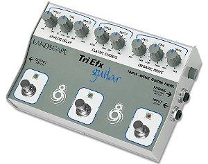 Pedal de efeito Landscape TriEfx Guitar TRIGT
