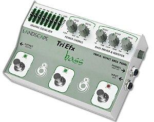 Pedal de efeito Landscape TriEfx Bass TRIBS