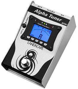 Pedal de efeito Landscape afinador Alpha Tuner ATN1