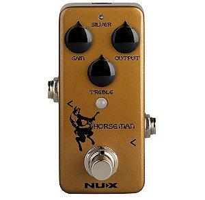 Pedal de efeito Nux Horseman Klon centaur clone NOD-1
