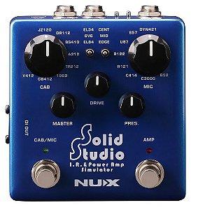 Pedal de efeito Nux IR & power amp simulator Solid Studio NSS5