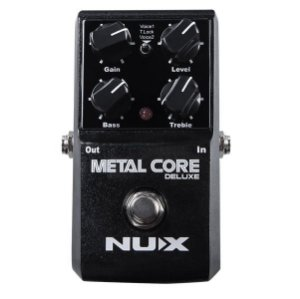 Pedal de efeito Nux distortion Metal Core Deluxe