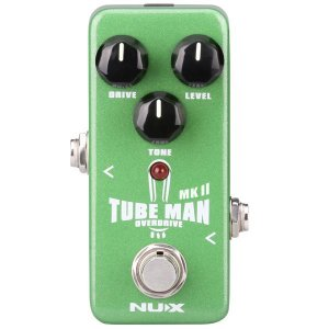 Pedal de efeito Nux Tube Man MK II overdrive NOD-2