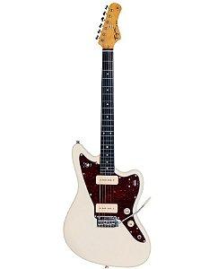 Guitarra Eletrica Tagima TW-61 Serie Woodstok Branco