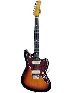 Guitarra Eletrica Tagima TW-61 Serie Woodstok Sunburst