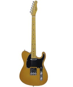 Guitarra Elétrica Tagima TW-55 Serie Woodstock Butterscotsh