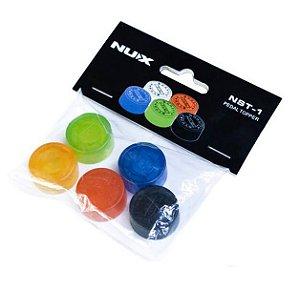 Topper para pedais Nux coloridos 5 unidades