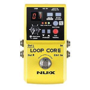 Pedal de efeito Nux Loop Core