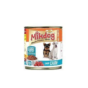 Patê Mikdog Filhote Carne 290g