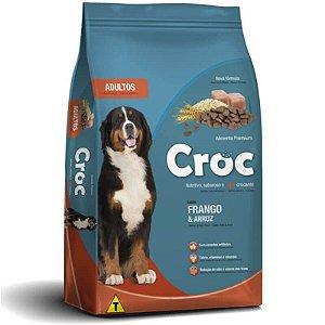 Ração Croc Adulto Frango e Arroz Premium