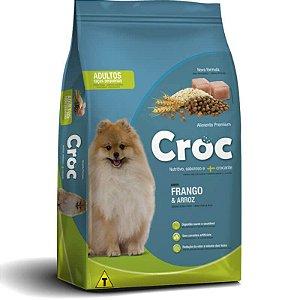Ração Croc Adulto Raças Pequenas Frango e Arroz Premium