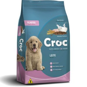 Ração Croc Leite Filhotes Premium