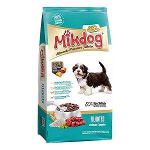 Ração mikdog Filhotes Premium