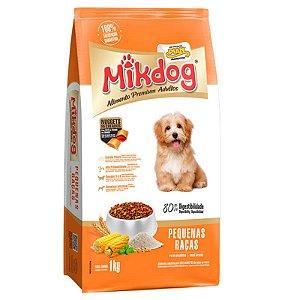 Ração Mikdog Adulto Raças Pequenas Premium