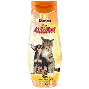 Shampoo Neutro Cão e Gato Cão Fiel 200ml