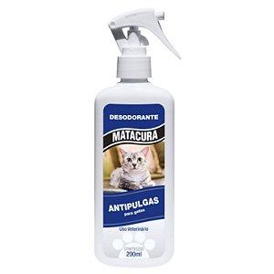 Desodorante Antipulgas para Gatos Matacura 200ml