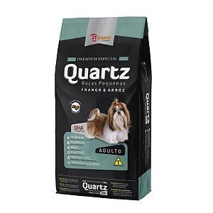 Ração Quartz Adulto Raças Pequenas frango e Arroz Premium Especial