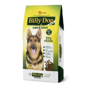 Ração Billy Dog Natural Carne e Cereais