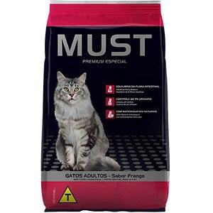 Ração Must Gatos Adultos Frango Premium Especial