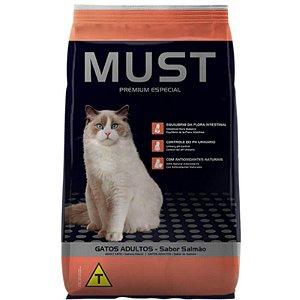 Ração Must Gatos Adultos Salmão Premium Especial