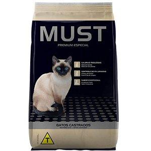 Ração Must Gatos Castrados Premium Especial