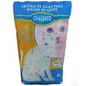 Areia Higiênica para gatos silica gel chalesco 1,8 kg