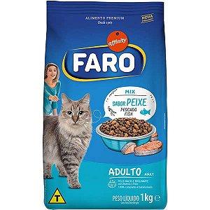 Ração Faro Cat Peixe Mix