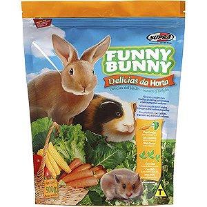 Ração para Coelhos, Hamsters e Outros Pequenos Roedores Funny Bunny 500g