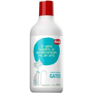 Sabonete Líquido Para Gatos Ibasa 500ML