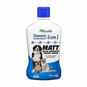 Shampoo e Condicionador Cães e Gatos 6 em 1 Kelldrin 500ml