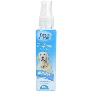 Perfume Pet Clean Cães e Gatos Machos 120ml