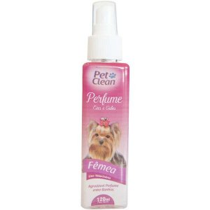 Perfume Pet Clean Cães e Gatos Fêmea 120ml