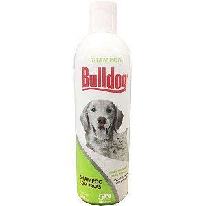 Shampoo Bulldog Antipulgas para Cães e Gatos com Ervas Coveli 500ml