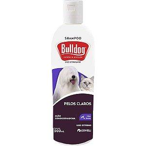 Shampoo Bulldog para Cães e Gatos pelos Claros Coveli 500ml
