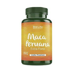 MACA PERUANA - 60 cápsulas - 500mg - Linha Premium