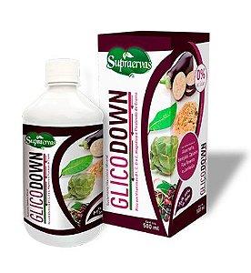 Glicodown - 500ml - c/ Vitaminas B1, C, D, E, Magnésio e Picolinato de Cromo