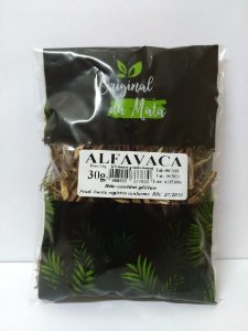 Alfavaca - 30gr (Original da Mata)