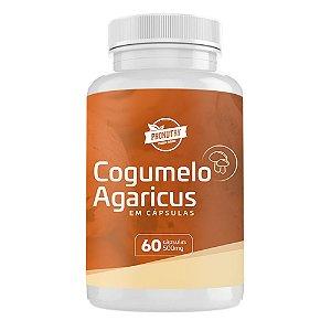 Cogumelo Agaricus - 60 Caps