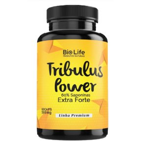 TRIBULUS POWER 60% SAPONINAS - 60 CÁPSULAS - 500mg