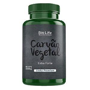 CARVÃO VEGETAL - 60 CÁPSULAS - 500mg