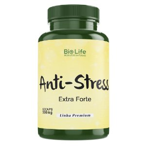 ANTI-STRESS - 60 CÁPSULAS - 500mg