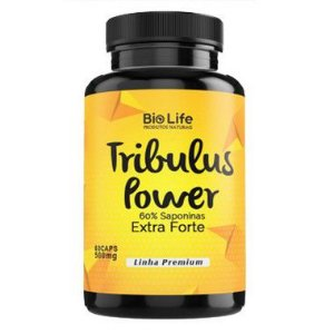 TRIBULUS POWER 60% SAPONINAS - 100 CÁPSULAS - 500mg