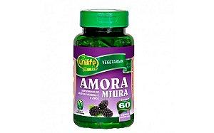 Amora Miura Com Vitaminas Unilife - 60 Cápsulas De 500mg