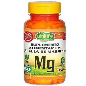 Magnésio Quelato Mg Unilife 60 cápsulas
