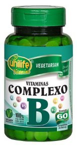 Vitaminas do Complexo B Unilife 60 Comprimidos