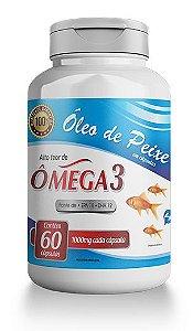 Óleo de Peixe 18EPA/12DHA – Frasco com 60 cápsulas de 1000mg