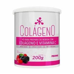 Colágeno e Vitamina C - 200g - Promel