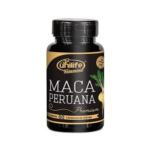 Maca Peruana Premium 550mg - 60 Cápsulas - Unilife